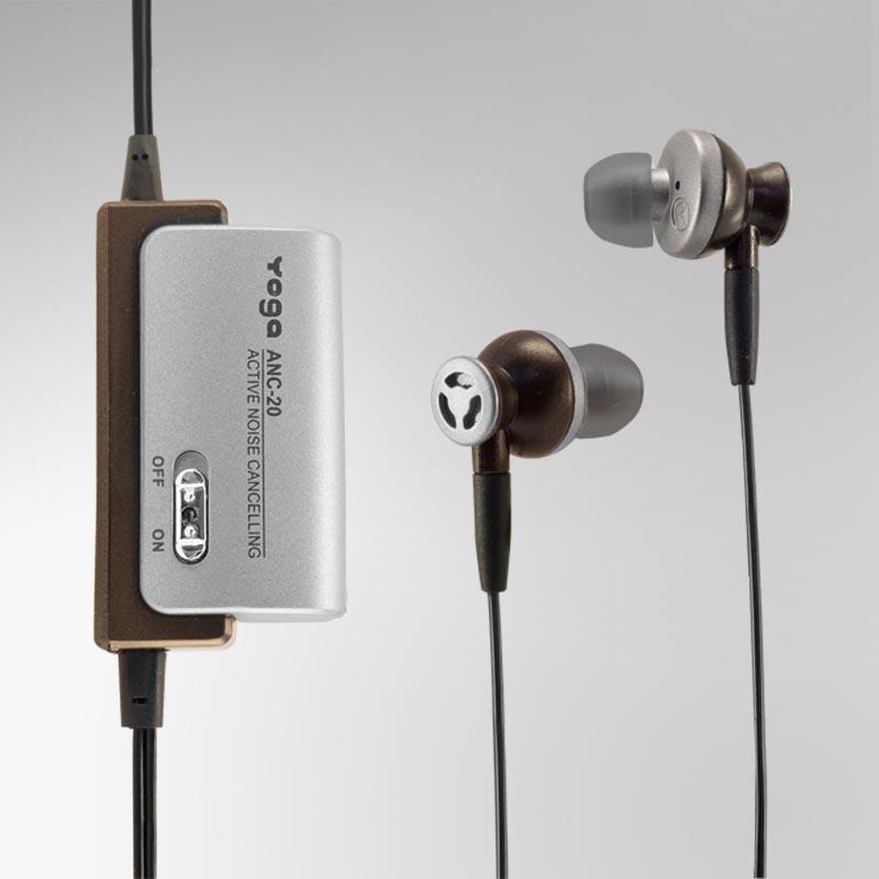 ANC-20 Noise cancelling earphones, In-earphones