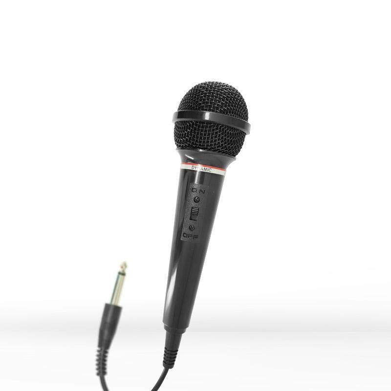 Elemento de microfone dinâmico, baixo ruído de manuseio