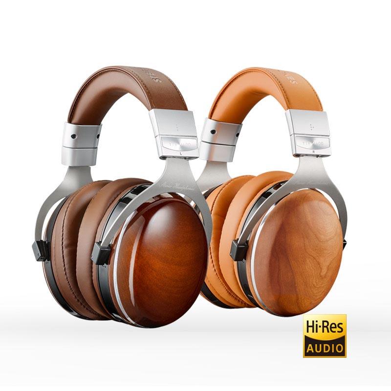YTH-2400 Wooden Closed-Back Headphones
